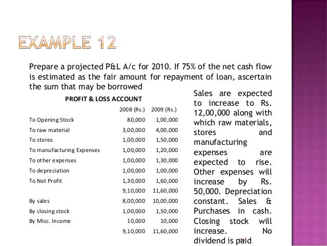  Used in long term forecasting  Method similar to P&L Method  A budgeted Balance Sheet is prepared showing all items of...