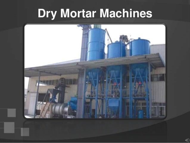 Dry Mortar Machines