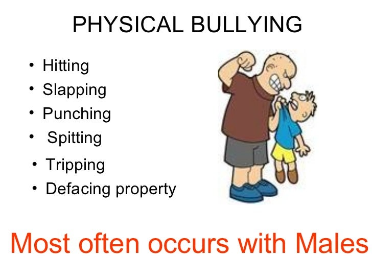 an understanding of the different types of bullying Understanding and preventing bullying has been less research on other types of bullying, for to establish the extent to which all these different types of.