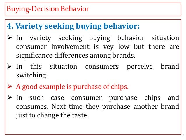 types of buying decision behavior 1 types of consumer buying behaviors & product  you to review a draft of tactics that are designed to influence your customers' buying behavior  of the business buying decision.