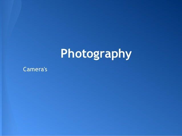 PhotographyCameras
