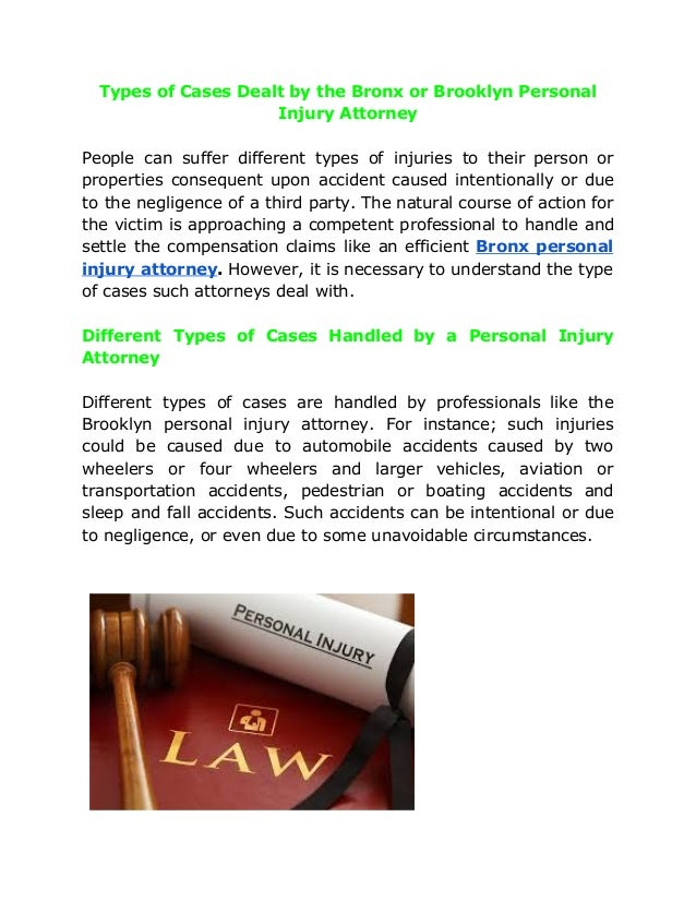 Everything about Personal Injury Law