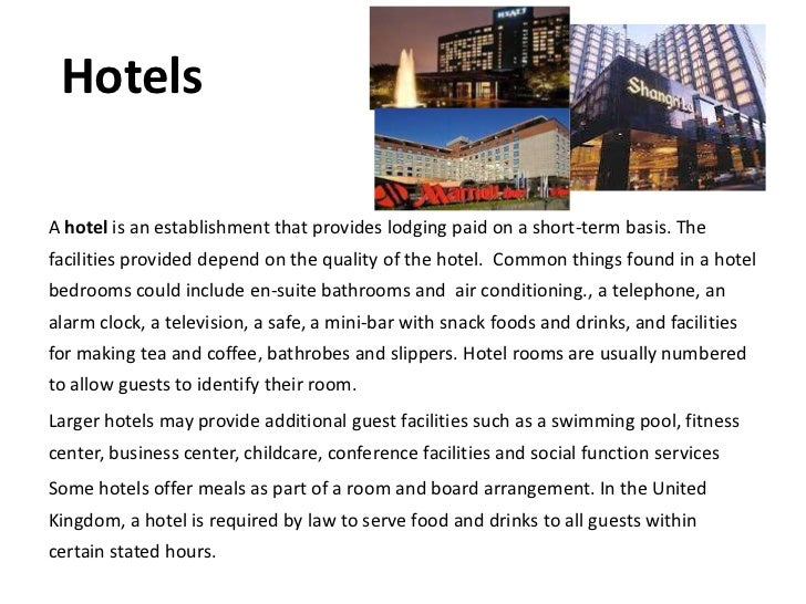 the function of hospitality In hospitality businesses, your brand ambassadors are your employees whether an employee deals directly with the customers or provides a support function for those who do, their performance is what makes your business stand out above and beyond its competitors.
