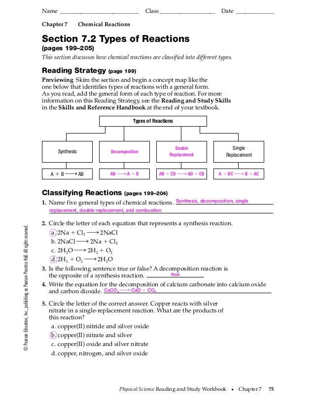 Prentice-hall Inc Science Worksheet Answers | Worksheet Resume