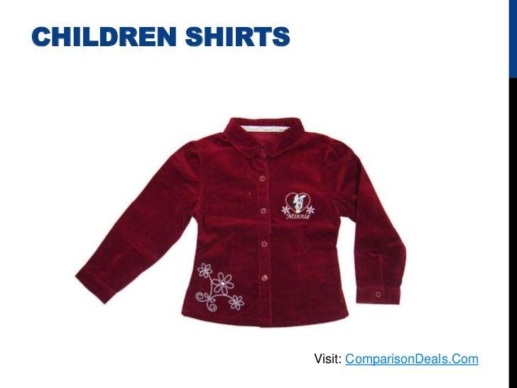 CHILDREN SHIRTS                  Visit: ComparisonDeals.Com