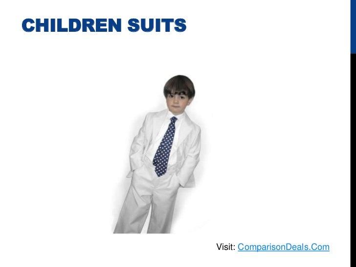 CHILDREN SUITS                 Visit: ComparisonDeals.Com