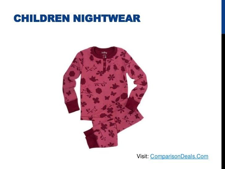 CHILDREN NIGHTWEAR                 Visit: ComparisonDeals.Com