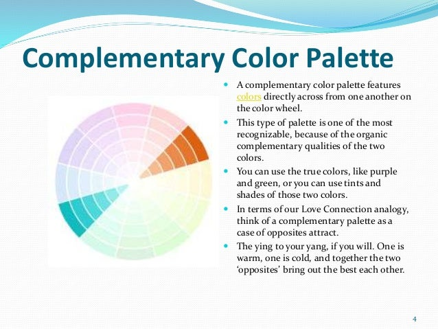 3 4 Complementary Color Palette A