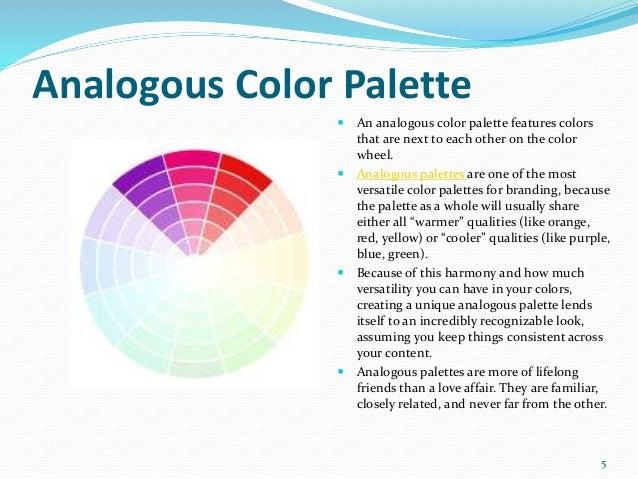 4 5 Analogous Color Palette