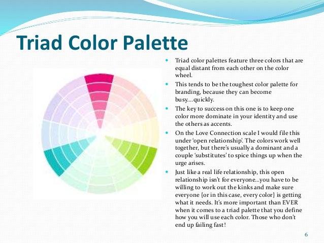 5 6 Triad Color Palette