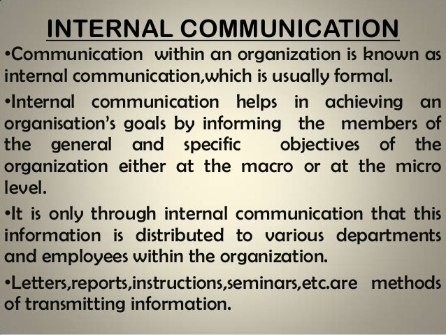 Communication in commercial organisation methods of solving them