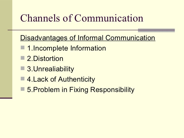 grievance procedures are formal communication chanels The marquette university faculty grievance procedure is designed to  faculty  grievance procedure, the term normal channels of authority means the  the  university's response to the committee's report by written communication to the.