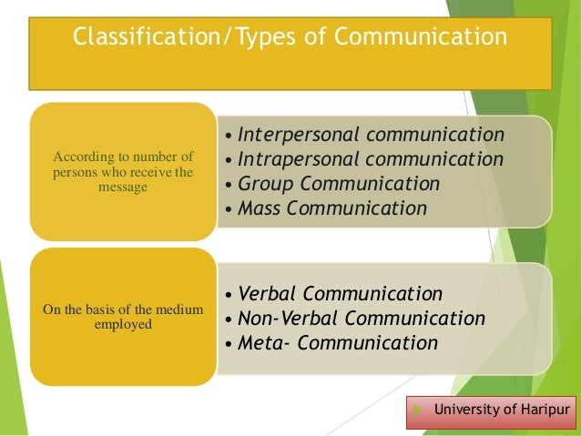 types of group communication Types of groups from a organizational point of view, there are basically two types of groups these are formal groups and informal groups formal groups an group is formal when it is purposely designed to accomplish an organizational objective or task.