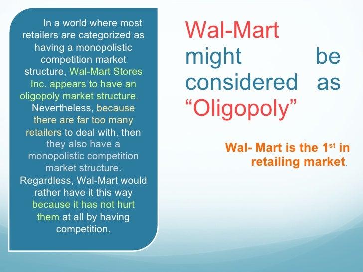 wal mart organizational structure