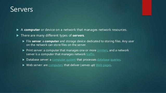 Dedicated server on computer k