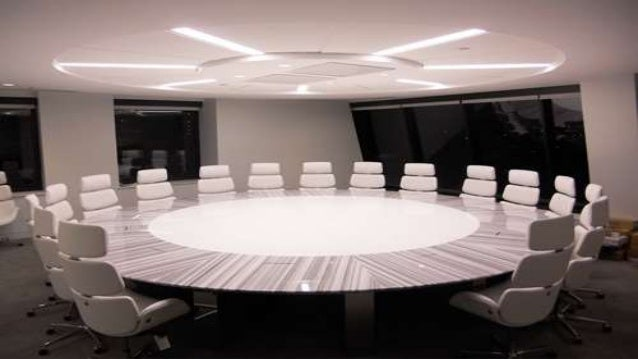 3  WHILE THE STYLE AND DESIGN OF MODERN FURNITURE. Types of conference room tables and changing trends of furniture stor