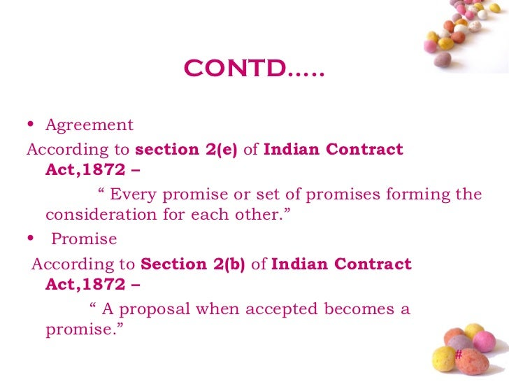 acceptance indian contract act 1982 A summary of the key provisions of the indian contract act and a link to the full text of the act itself an agreement consists of an 'offer' and its 'acceptance.