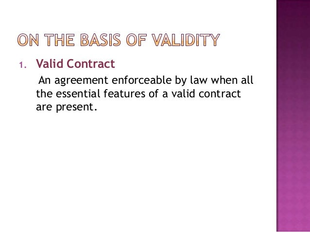 Types of contract Slide 2