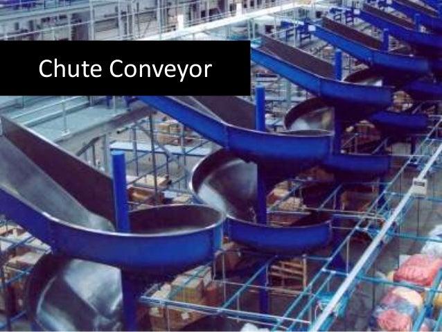 Types of conveyors Slide 2