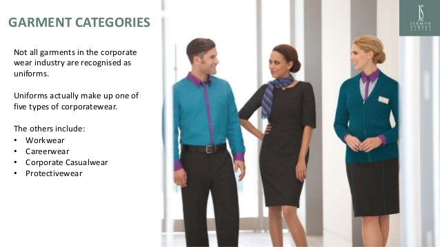 Types Of Corporate Clothing Revised