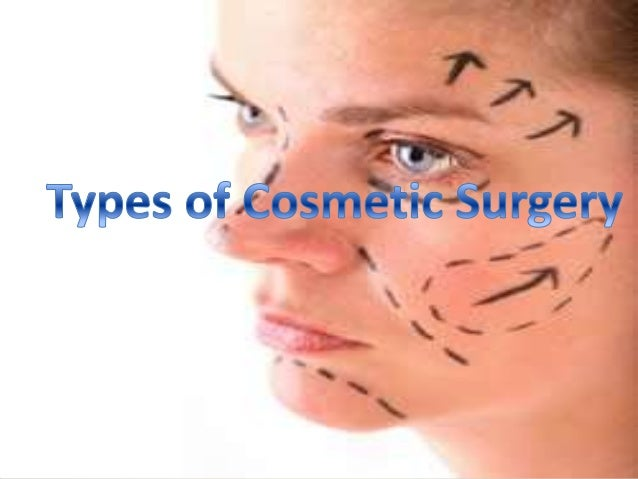 Types of Cosmetic Surgery