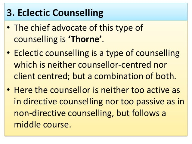 directive approach of counselling