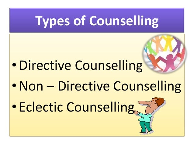 types of counselling strategies