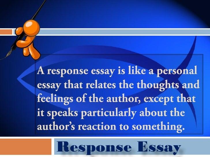 Creative essays