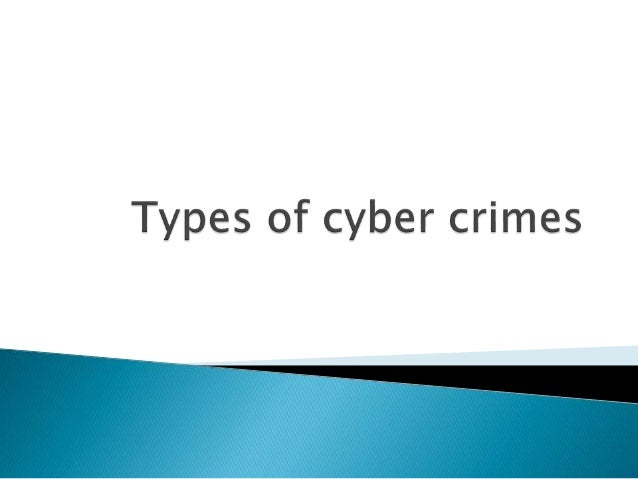 computer crimes in the information age Crime and crime prevention in the information age information age  are a big risk to the security of your computer and any information and files you.