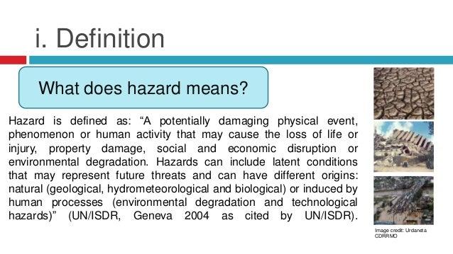 A description of the hazards in antigone