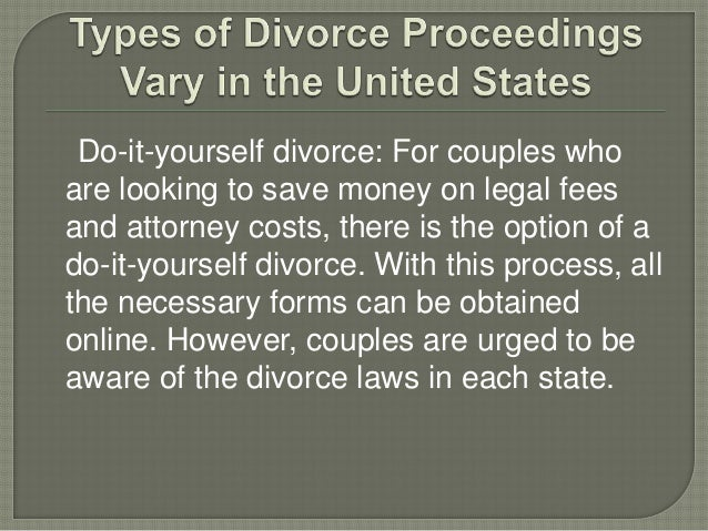 Types of divorce proceedings vary in the united by john cutchin do it yourself divorce solutioingenieria Choice Image
