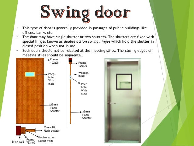 11.  sc 1 st  SlideShare & Types of doors by aakash