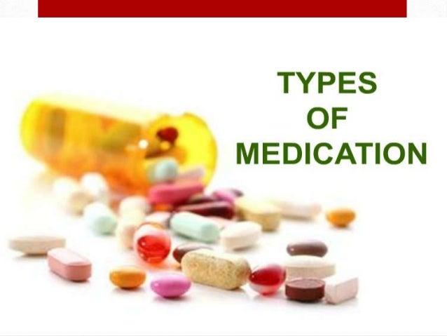 The types of drugs in the Homework Sample - September 2019