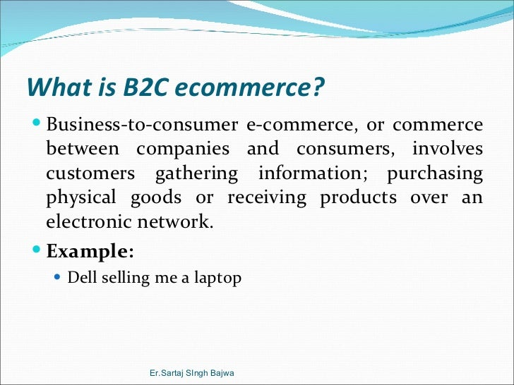 an introduction to the online business information and e commerce E commerce scce_cse page 3 unit- i 1 introduction: • it is a general concept covering any form of business transaction or information exchange.