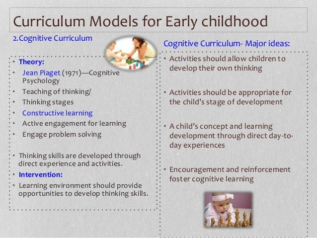 types of preschool curriculum types of early childhood curricula by arianny calcagno m ed 670