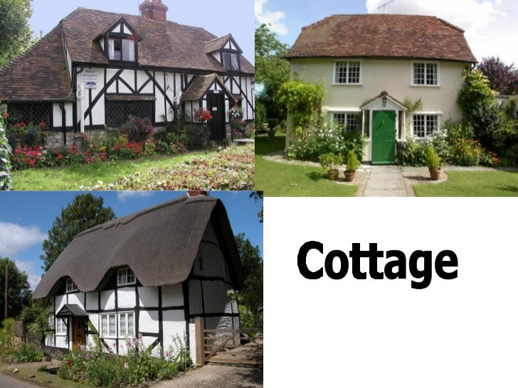 Types of english houses for Kinds of houses