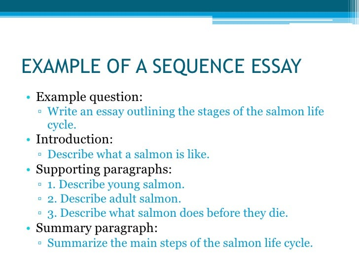 The stages of writing an essay