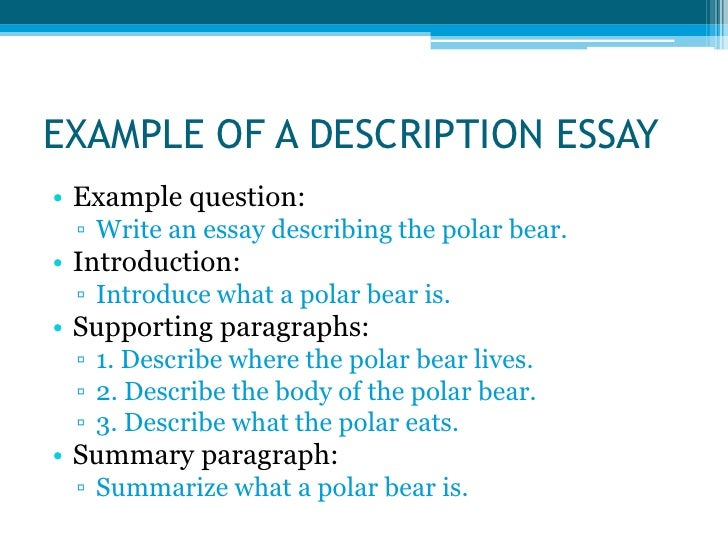types of essays <br > 3 example of a description essay<br
