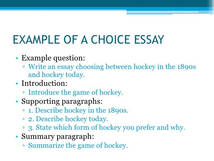 types of essay examples One problem in doing that is there are different types of ielts essay questions each of which poses its own problems in this post  two examples in this type of.