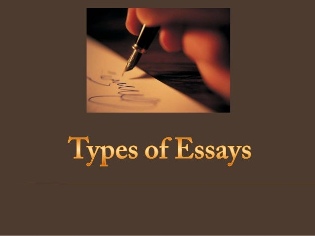 Type of essays