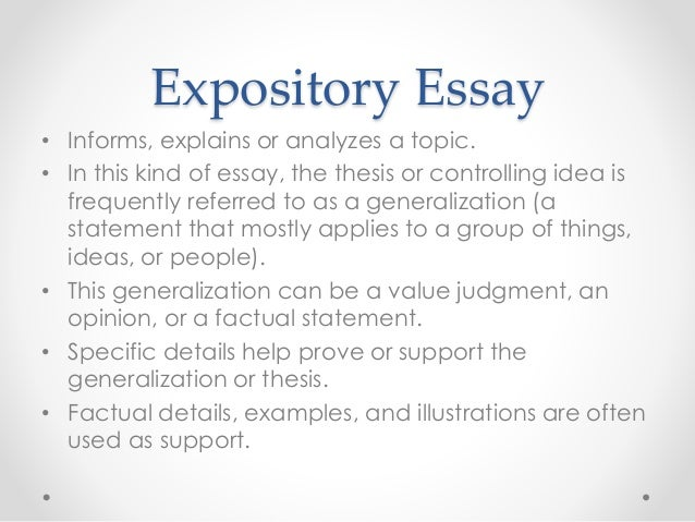 generalisation or specialisation essay writer