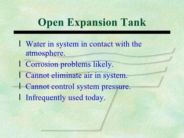 Types of Expansion Tanks