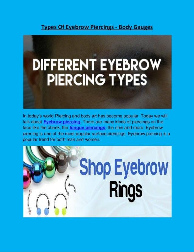Eyebrow Piercing Types Of Eyebrow Piercings Eyebrow Piercing Afte