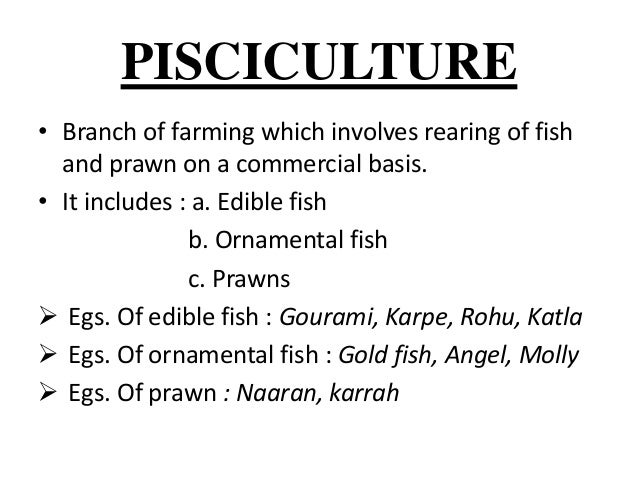 types of farming ppt
