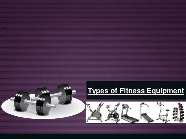 Types of Fitness Equipment