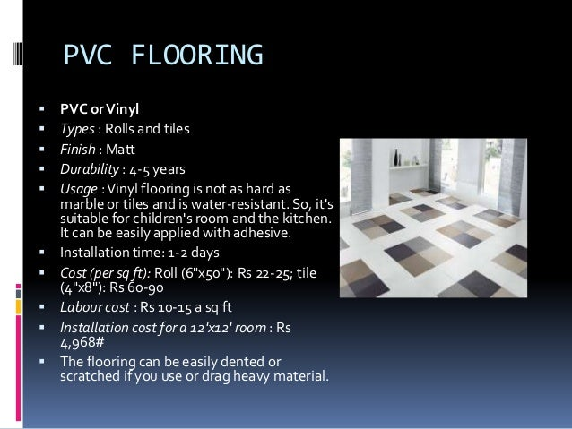Types Of Floor Finishes