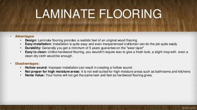 Gentil LAMINATE FLOORING U2022 Advantages: ...