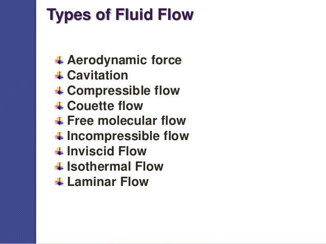 Types of fluid flow best ppt