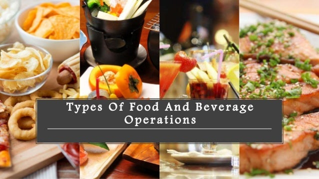 food and beverage operations pdf