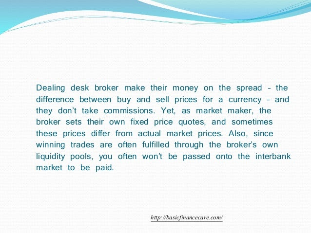 Types of is forex broker